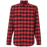 Chemise Oakley Checkered Ridge Rouge/Noir