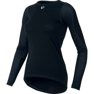 Sous-maillot Hiver Pearl Izumi Transfer Wool LS Baselayer - Dame