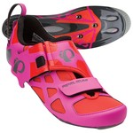 Chaussures Pearl Izumi W Tri Fly V Carbon - Rose/Orange
