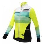 Maillot Hiver Santini Coral FW216175CORAL - Jaune Fluo