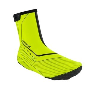 Couvre-chaussures Route  Shimano S3000R NPU+ - Fluo