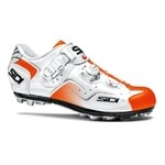 Chaussures Sidi Cape Blanc/Orange Verni