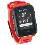 Montre GPS Sigma ID.Tri Basic - Rouge