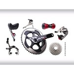 Groupe SRAM RED new 2012 GXP avec cuvettes Inox