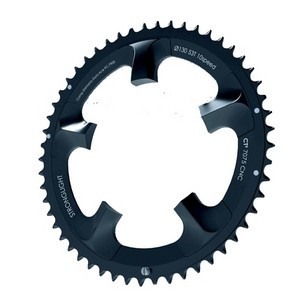 Plateau Stronglight 130 type Dura-ace  CT² 10 vitesses Exterieur