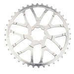 Stronglight Kit de conversion 40 dents pour cassette 10 vitesses SRAM - Argent