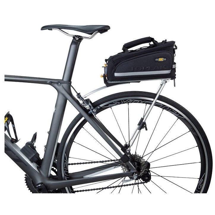 porte bagage v lo route topeak roadie rack 28 39 argent xxcycle. Black Bedroom Furniture Sets. Home Design Ideas